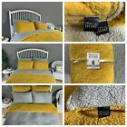 Fleece TEDDY BEAR Duvet Quilt Cover Warm & Cozy + Pillow Cases OR Fitted Sheet image