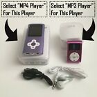 MP3-MP4 Player Ultra Slim Music Player With FM Radio Voice Recorder Support 64GB