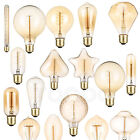Vintage Retro Edison E27 Filament Light Bulbs 40W Warm White Decor Lamp RH735