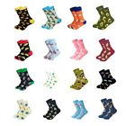 Women Cute High Quality Cotton Crew Socks Cartoon Food Pattern EUR35-39