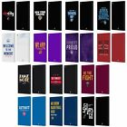 OFFICIAL NBA 2018/19 TEAM SLOGANS 2 LEATHER BOOK WALLET CASE FOR AMAZON FIRE on eBay