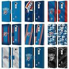 OFFICIAL NBA OKLAHOMA CITY THUNDER LEATHER BOOK WALLET CASE FOR LG PHONES 2 on eBay