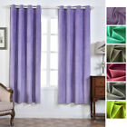 Embossed Blackout 52 x 84-Inch Window Drapes Curtains 2 Panels Home Decor Design