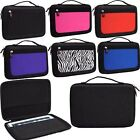"Universal Hard Nylon Semi Travel 9"" 10"" tablet case cover (Size 11 x 7 x 1.3-in)"