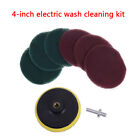 Tile`grout power scrubber cleaning scouring pad drill attachment cleaner`sanding