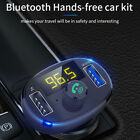 Wireless Car FM Transmitter Hands-free Wireless Adapter USB Charger Mp3 Player