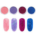 1g/Box Gradient Glitter Powder Shining Sugar Glitter Powders Nail Art Decors