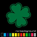 Four Leaf Clover Sticker Vinyl Decal - Lucky Irish Shamrock Wall Luck Car Window