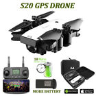 SMRC S20 GPS Camera Drone Foldable RC Quadcopter w/ WIFI 1080P FPV 5G HD Camera