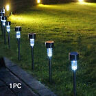 Stainless Steel Solar Powered Waterproof Pin Light Super Bright Garden Outdoor