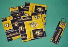 New COASTERS SET of 4 and/or KEYCHAIN key ring NASHVILLE PREDATORS Hockey NHL $6.75 USD on eBay