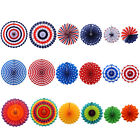 6pcs Fashion Patriotic Decor for Presidents Day Independence Day and Party Decor