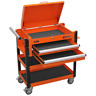 More images of Sealey AP760MO Heavy-Duty Mobile Tool & Parts Trolley 2 Drawers & Lockable To...