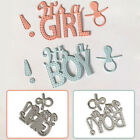 It's a Girl/Boy Metal Cutting Die Stencil for Scrapbooking Card Making Sanwood