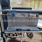 Armrest organizer for use with mobility scooters, wheelchairs and walkers