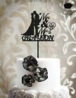 Внешний вид - Customized Wedding Cake Topper Personalized Mr and Mrs Cake Topper - ind101