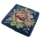 Vintage Retro Floral Jacquard Dining Chair Cushion Seat Pad for Dining Room