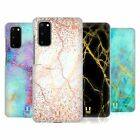 HEAD CASE DESIGNS GLITTERY MARBLE PRINTS HARD BACK CASE FOR SAMSUNG PHONES 1