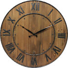 Oversize 24 Inches Wine Barrel Wall Clock -  In Two Number Styles