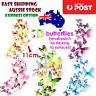 12pcs Quality Butterfly 3d Wall Stickers 11cm Home Decorations Multicolour
