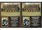 1962 NFL Champion Green Bay Packers Photo Card Plaque $26.55 USD on eBay