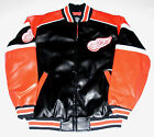 Detroit Red Wings Faux Leather Jacket Men's size Large or X-Large, New w/Tag $59.99 USD on eBay
