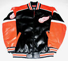 Detroit Red Wings Faux Leather Jacket Men's size Large or X-Large, New w/Tag $74.99 USD on eBay