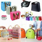Waterproof Thermal Insulated Lunch Bag Portable Tote Storage Picnic Box 5 Types
