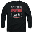 Monopoly My Friends Adult Long Sleeve T-Shirt