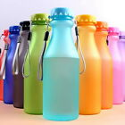 Plastic Sport Water Bottle Portable Travel Healthy Drinking Cup 550ML Kids Adult