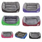 Large Dog Pets Cat Soft Warm Beds Doghouse Kennel Sleeping Bed Mat Waterproof