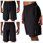 "Reebok Men's Woven Short 2.0 Black Caviar NEW Athletic Shorts 10"" Loose Fit"