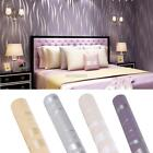 3 Types 10m Modern Style 3d Embossed Wavy Print Wallpaper Home Background Decor