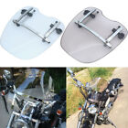 Clear/ Somke Motorcycle Windshield for Harley Suzuki Kawasaki Yamaha Honda $41.99 USD on eBay