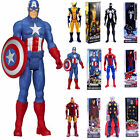 Marvel Avengers Superhero Action Figure Batman Superman Hulk Collection New Doll