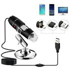 1000X 1600X Adjustable Microscope 8 LED Magnification Digital For WIN With Stand