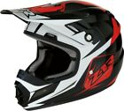 Z1R Rise Ascend Youth MX Offroad Helmet Red