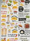 Recollections FOOD/DRINK sticker varieties~BNIP~Simply Adorable!! Quick Ship!!