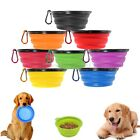 Travel Portable Collapsible Pet Dog Bowl for Food & Water Bowls Dish Foldable 34