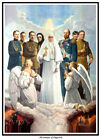 THE MARTYRS OF ALAPAEVSK  ICON PRINT. GRAND DUCHESS ELIZABETH OF RUSSIA. ROMANOV