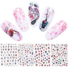 3D Nail Stickers Chinese Style Ultra-thin Nail Adhesive Transfer Decals Decors