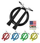 10ft Adjustable Steel Wire Speed Skipping Jump Rope CrossFit Exercise Fitnesss image