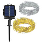 23M  200 LED Solar Battery Powered String Lights Outdoor Waterproof Decor Lamp