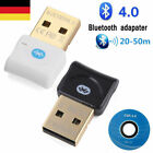 Bluetooth CSR4.0 USB Stick Adapter Dongle Audio Empfänger für Windows XP/7/8/10