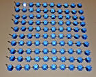 WEDDING BEADS CHANDELIER DROPLETS BLUE OR TEAL CRYSTALS 14MM GLASS DROPS GARLAND