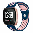 For Fitbit Versa Wristband Strap Sport Breathable Silicon Replacement Watch Band