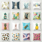 18'' Polyester Pineapple Pillow Case Cover Sofa Waist Cushion Cover Home Decor