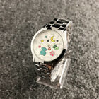 New Fashion Stainless steel Colorful quartz Watches Bear Wristwatch image