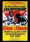 ROBERTO DURAN 01 vs SUGAR RAY LEONARD (BOXING FIGHT POSTERMUGS AND POSTER PRINTS