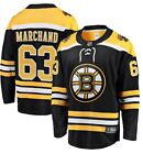 Brad Marchand #63 Boston Bruins Black & Yellow Adult Ice Hockey Jersey $65.0 USD on eBay
